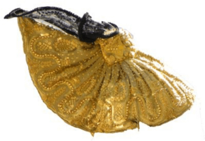 Goldhaube rechts